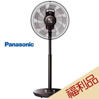 【實演機】Panasonic 國際牌 F-H14EXD-K 14吋 晶鑽棕 DC直流電風扇 nanoeX 送摩登碗組($599)