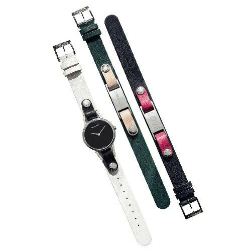 Calvin Klein CK質感飾品腕錶(K9D231LY)32mm三色錶帶可替換 618年中狂歡↘專櫃手錶全網最低