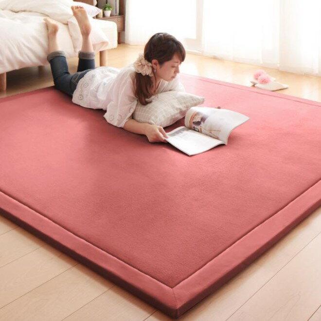 出口日本等級 日本原單 130*190CM 高級纖細珊瑚絨地毯 /  爬行墊 /  遊戲墊 /  榻榻米墊 /  運動墊 /  瑜珈墊 /  地墊 (如需其他尺寸也能訂做) 5
