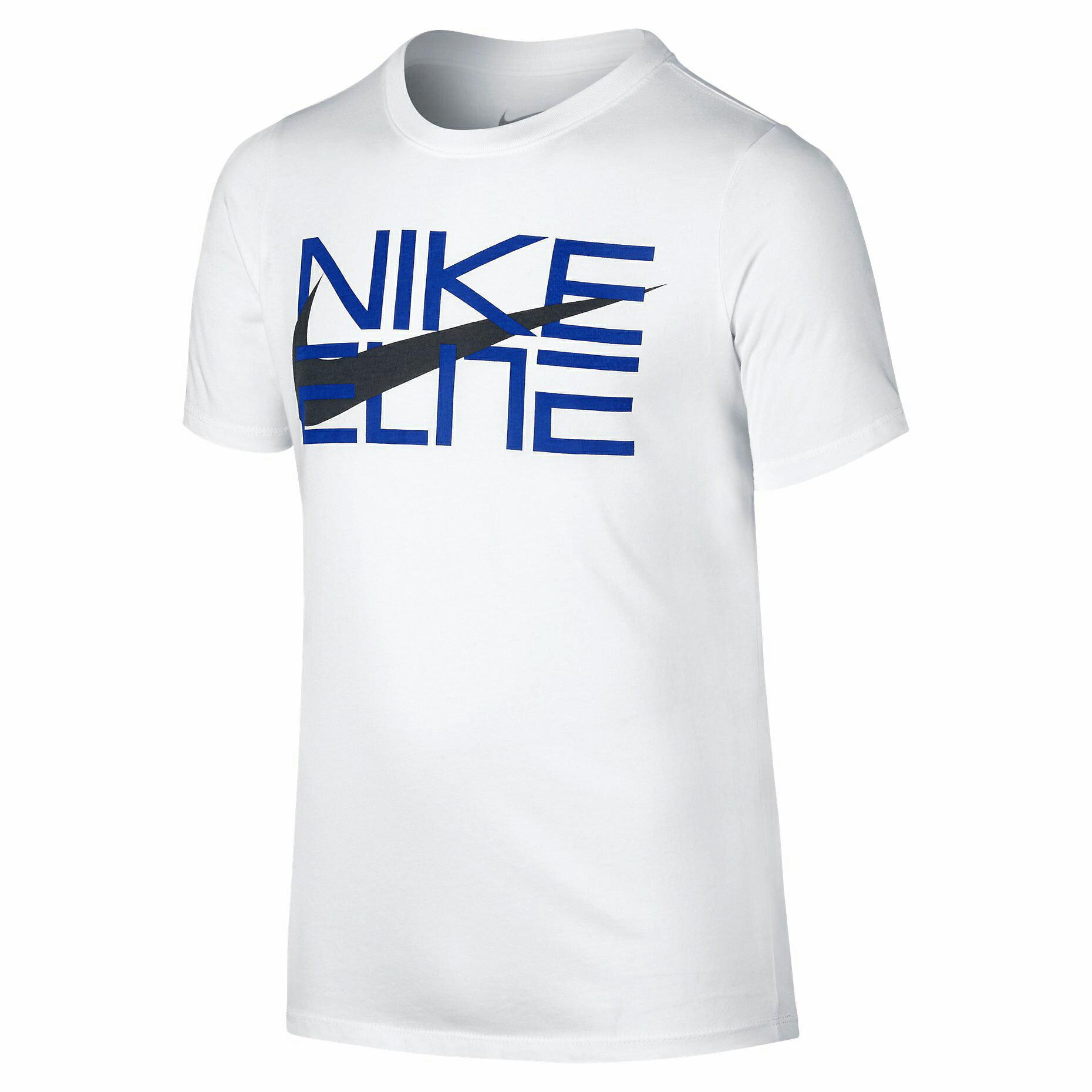 BEETLE NIKE ELITE 大勾 LOGO 字體 全白 白 藍 黑 經典 棉質 短T TEE T-SHIRT NT-86 - 限時優惠好康折扣
