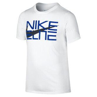 BEETLE NIKE ELITE 大勾 LOGO 字體 全白 白 藍 黑 經典 棉質 短T TEE T-SHIRT NT-86
