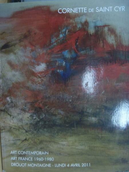 【書寶二手書T3/收藏_YAL】Cornette de saint cyr_Art contemporain
