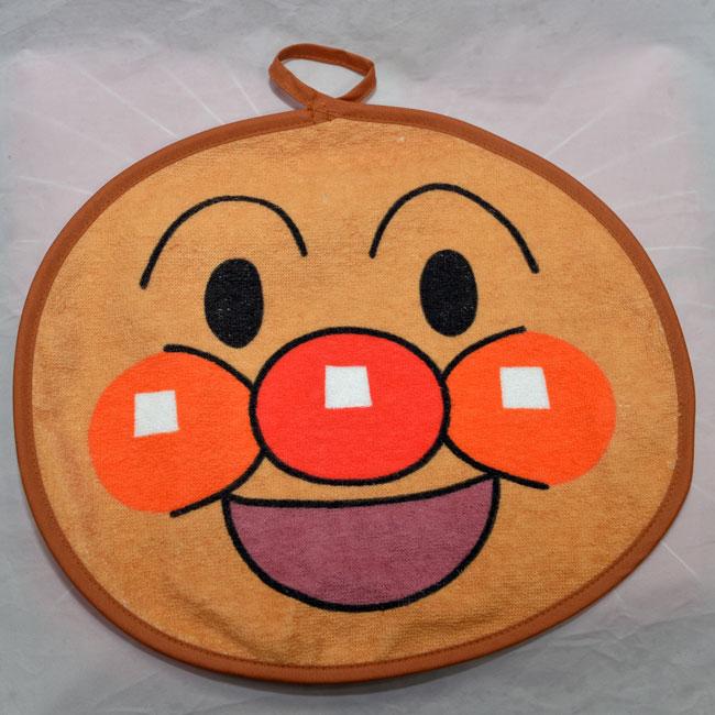 麵包超人 擦手巾 日本製 抗菌防臭加工 100%純綿 正版商品