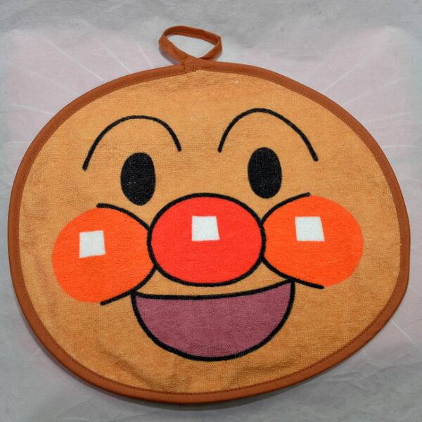 麵包超人擦手巾日本製抗菌防臭加工100%純綿正版商品