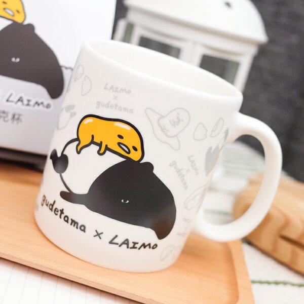 PGS7蛋黃哥系列商品-蛋黃哥Gudetama馬來貘聯名款馬克杯杯子【SEQ80047】