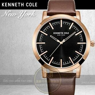Kenneth Cole國際品牌簡約紳士腕錶KC10030809公司貨/設計師/禮物/情人節
