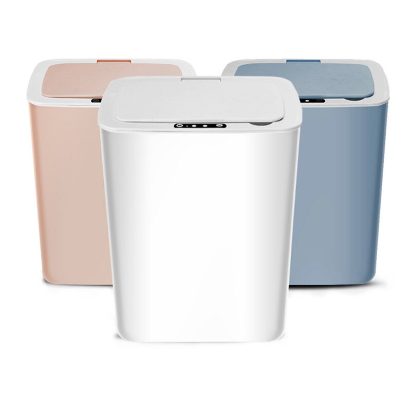 智慧感應垃圾桶桌面北歐帶蓋自動家用客廳廚房大號衛生間創意分類