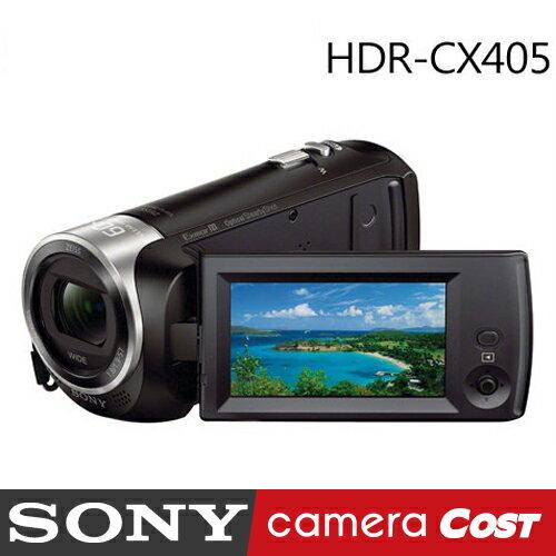 【SanDisk 32G超值9件組】SONY HDR-CX405 CX405 數位攝影機 (公司貨) - 限時優惠好康折扣