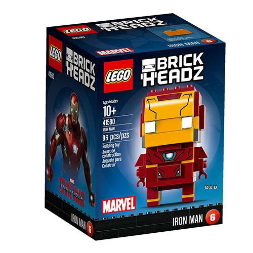 樂高積木LEGO《 LT41590 》Brickheadz 積木人偶系列 - 鋼鐵人