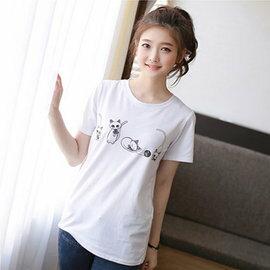 寬鬆半袖T恤 3色M~2XL ~ORead~