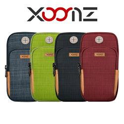 【愛瘋潮】99免運 XOOMZ 防潑水 側揹 腰掛 三合一運動臂包