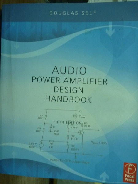 【書寶二手書T3/原文書_QFX】Audio Power Amplifier Design…_5/e