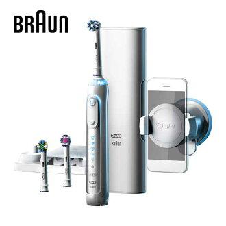 Oral-B 歐樂B Genius 9000 智慧追蹤3D電動牙刷(璀璨白)