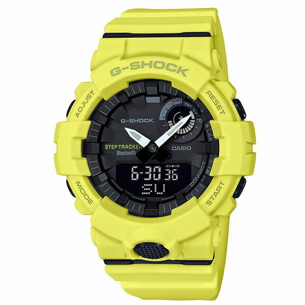 CASIO卡西歐G-SHOCKGBA-800-9AG-SQUAD系列藍芽計步運動腕錶