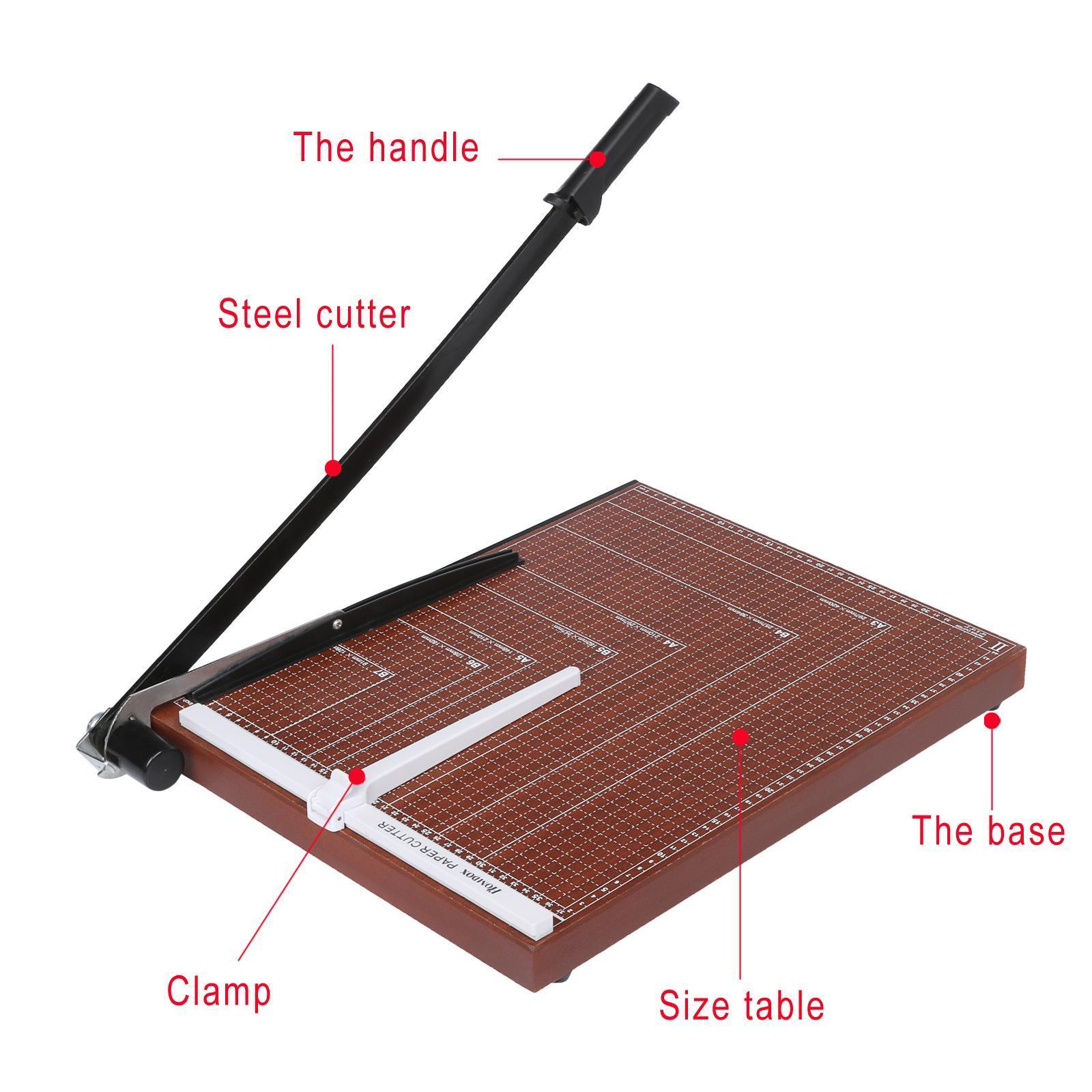 Wooden Paper Cutter A2-B7 1