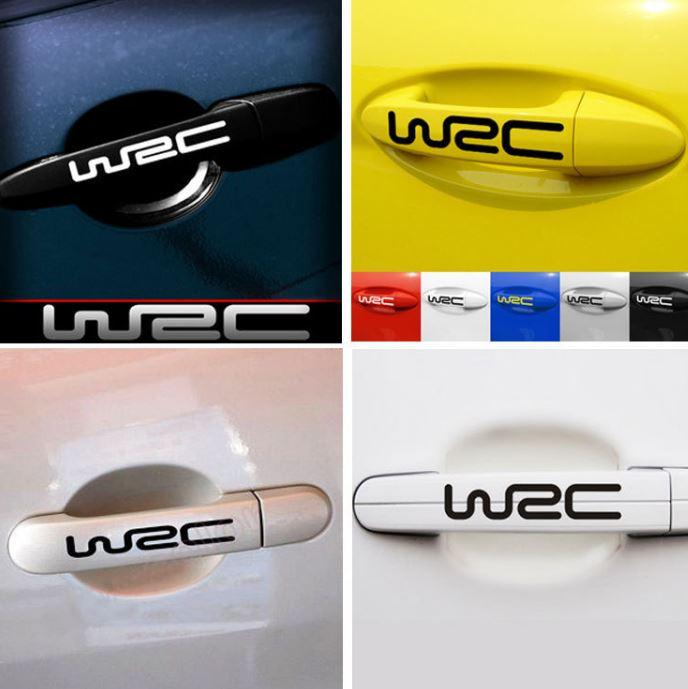 WRC 門手把貼 貼紙 FORD 三菱 HONDA MAZDA NISSAN VW TOYOTA 沂軒精品 A0325