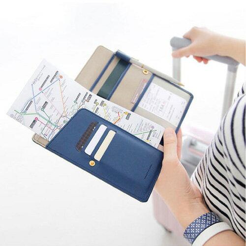 長夾 多功能護照夾證件夾旅行包【MJN101】 BOBI  12/01 0