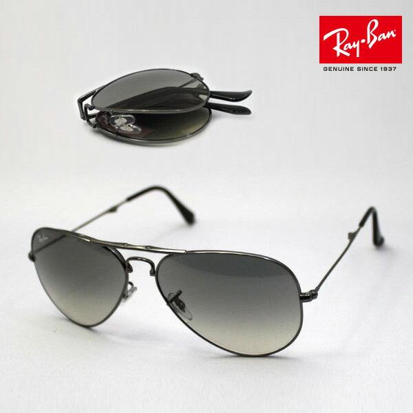 <br/><br/>  Outlet 100%正品代購 經典 Ray Ban 雷朋 復古 墨鏡 太陽眼鏡 RB3479折疊 銀邊漸層灰<br/><br/>