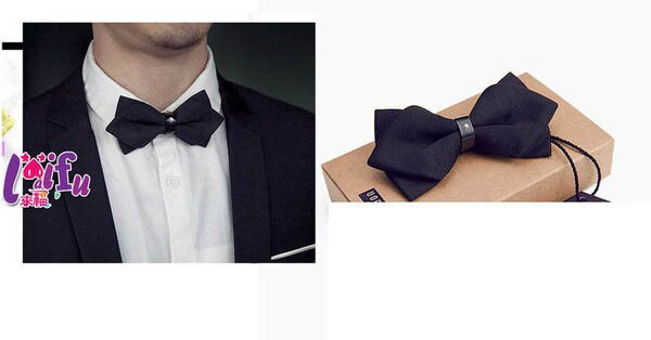 草魚妹:★草魚妹★k144閃鑽高檔尖角表演領結禮服糾糾結婚結婚領結,售價180元