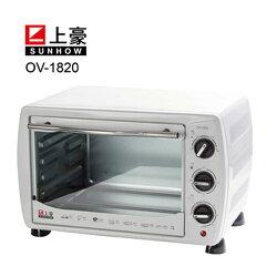 [滿3千,10%點數回饋]『SUNHOW』☆上豪 18L 電烤箱 OV-1820 **免運費**