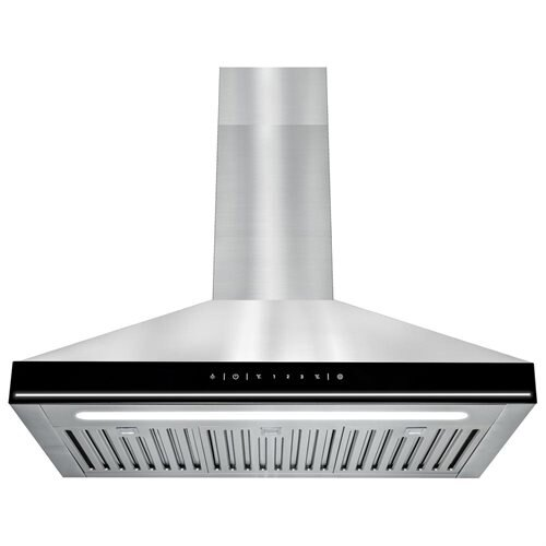 AKDY Stainless Steel Wall Mount Touch Control Kitchen Range Hood Vent 0