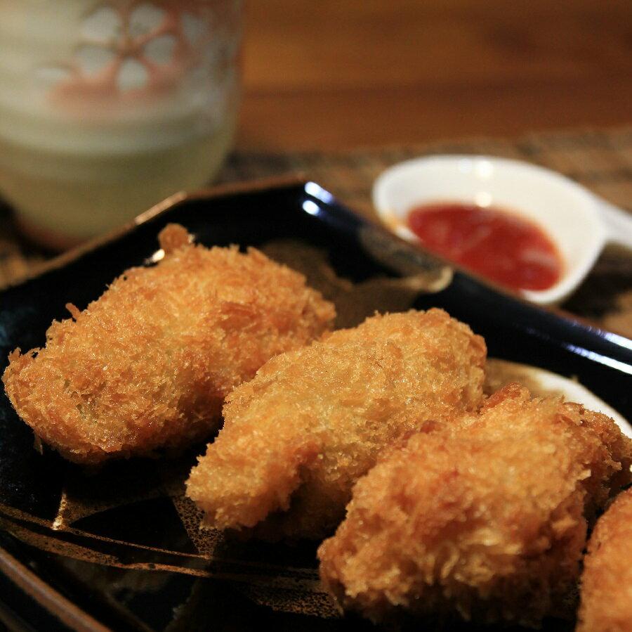 【京天生鮮】廣島黃金酥炸牡蠣,500g/包