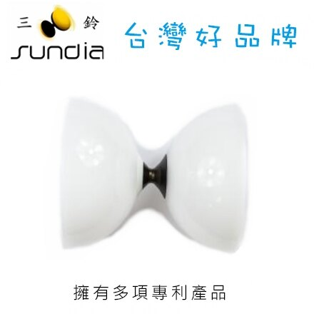 SUNDIA 三鈴 長軸培鈴系列 Fly.1B.CW飛漾珍白 / 個