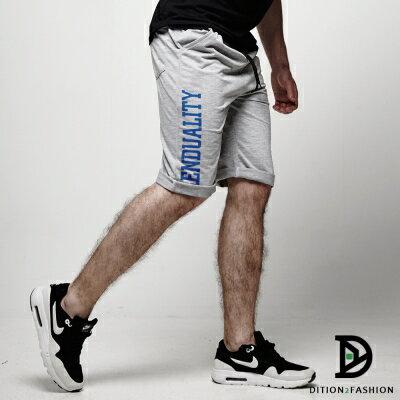 DITION 美式TREND螺紋短棉褲 拳擊SLIDE健身 0