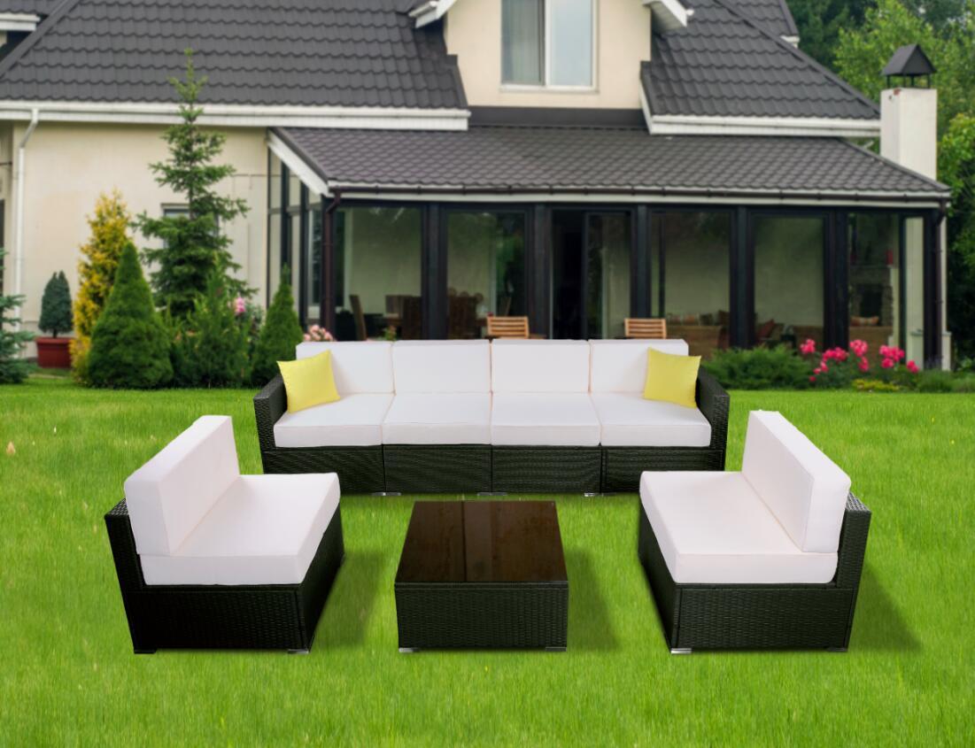 Mcombo Mcombo 6082 7pc Bigger Size Outdoor Furniture Luxury Patio