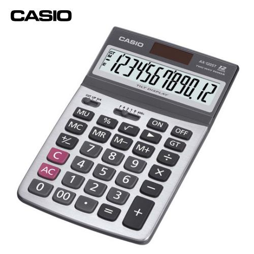 電算機 CASIO AX-120ST 可掀式面板計算機 (12位數)