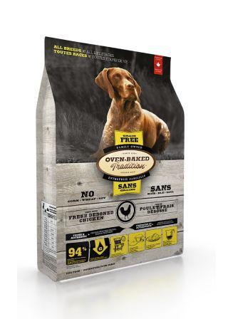 ?Double妹寵物?烘焙客OBT全犬無穀野放雞配方一般顆粒【12.5lb】【27lb】