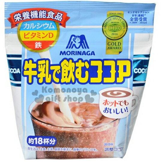 〔小禮堂〕日本原產 森永MORINAGA 可可亞粉《220g.袋裝》