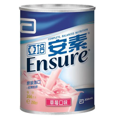 Abbott亞培 安素草莓液 237ml x 24罐【美十樂藥妝保健】