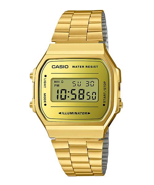 【CASIO】【男錶】【數位顯示錶】A168WEGM-9 台灣公司貨 保固一年 附原廠保固卡