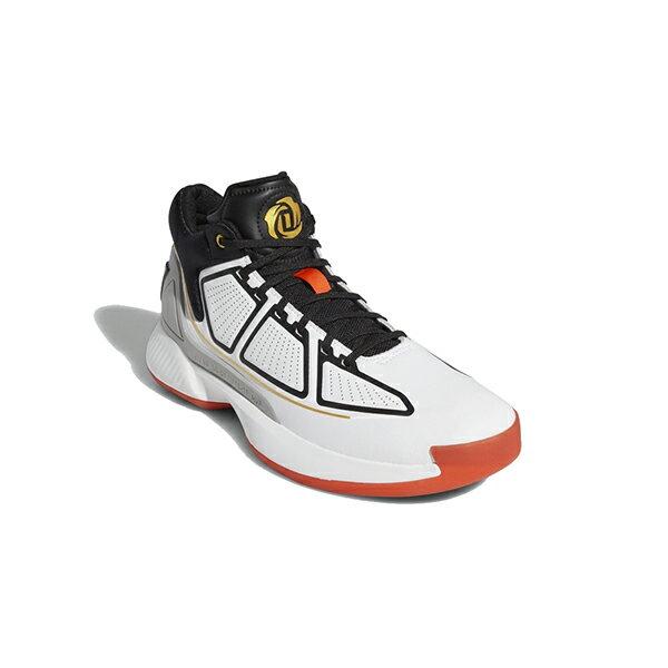 【ADIDAS】愛迪達 Rose 10 運動鞋 籃球鞋 白黑紅 男鞋 -F36778 1