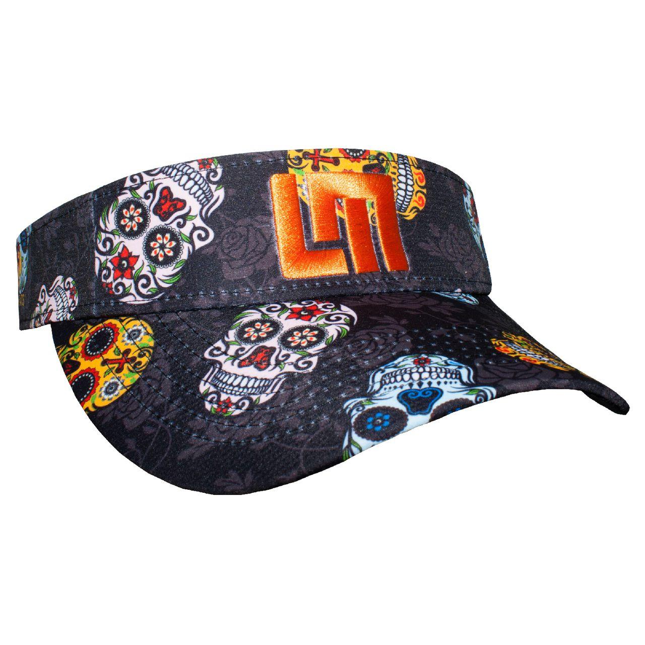 LOUDMOUTH 英國高爾夫服飾品牌-玫瑰骷髏中空帽
