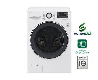 LG 樂金 14公斤 洗脫烘滾筒洗衣機 F2514DTGW ◆105/6/30前送洗衣紙 x2