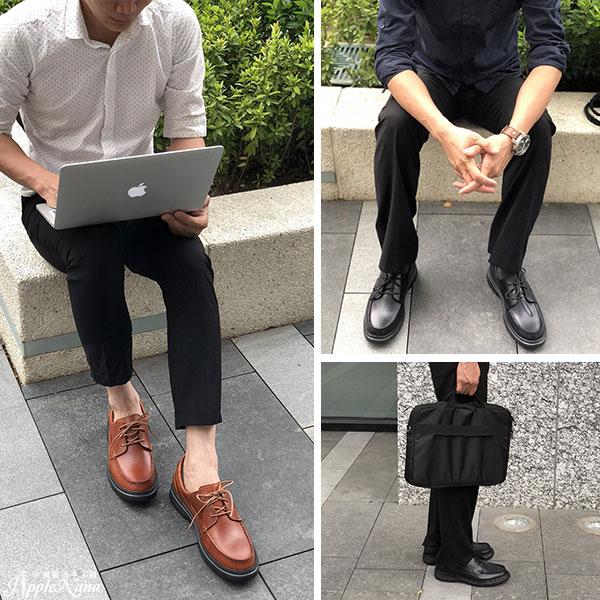 高質感全真皮綁帶紳士男皮鞋【QT9904-1-1780】AppleNana蘋果奈奈 3
