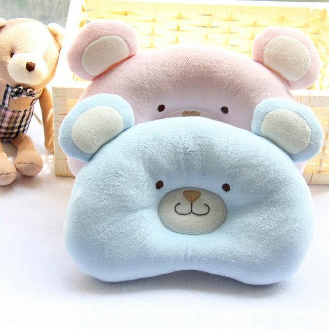 輕鬆小熊頭新生兒兒童定型枕頭 糾正防偏頭功能 新生兒用品 凯斯顿 新年春節 送禮
