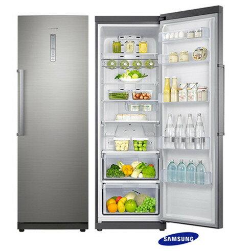 SAMSUNG 三星 345L 右開 冷藏冰箱 髮絲金屬銀 RR35H61157F /彈性收納/自動除霜/R600a冷媒