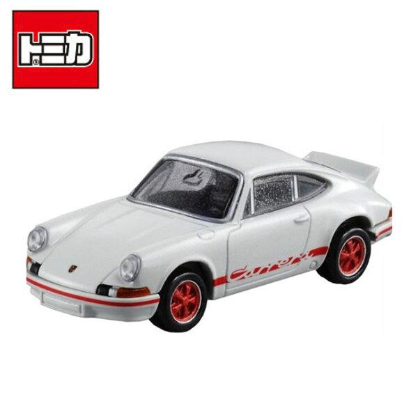 【日本正版】TOMICAPREMIUM12保時捷911CarreraRS2.7跑車玩具車多美小汽車-887195