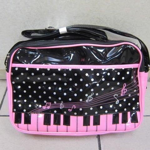 ~雪黛屋~SLYNESS鋼琴鏡面肩側書包防水防刮書包外出旅遊上學補習可放A4資夾LC702