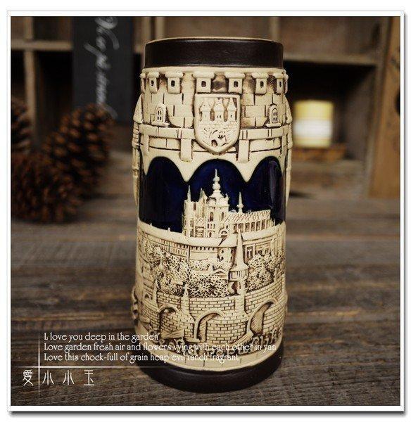 【聖維塔教堂】酒吧專用陶瓷啤酒杯創意結婚禮