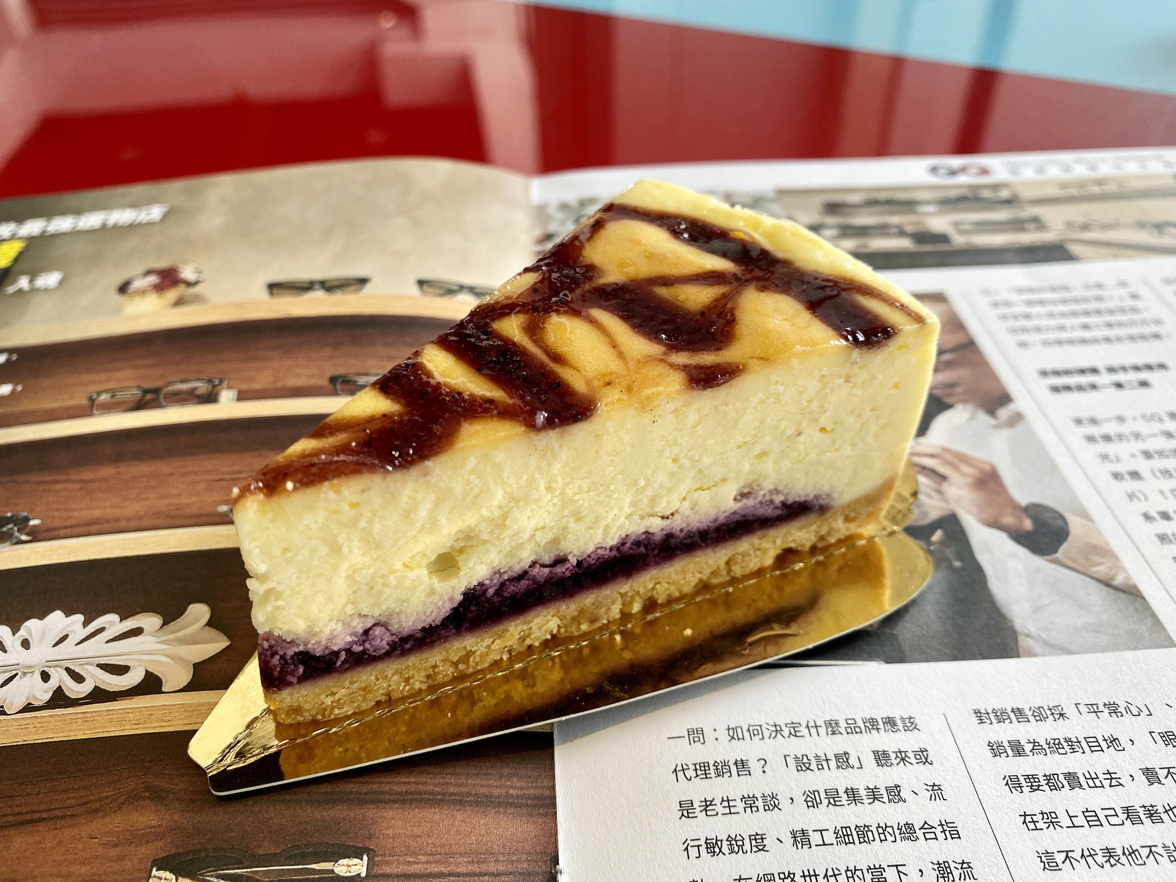 和風藍莓重乳酪(6吋)【木匠手作】