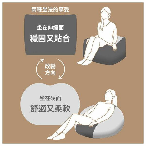 大型懶骨頭沙發專用布套 (本體另售) SOLID2 L NV NITORI宜得利家居 8