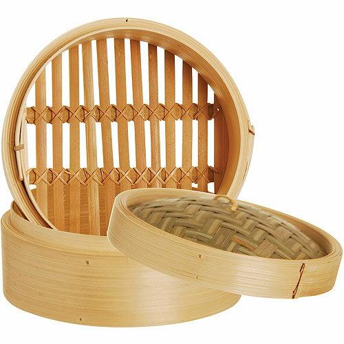 《EXCELSA》Asia雙層竹編蒸籠(18cm)