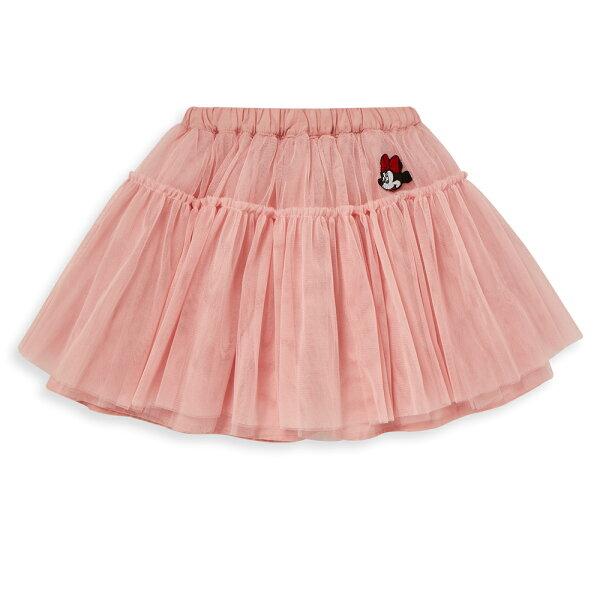 Disney米妮系列俏麗甜心蓬紗裙-粉紅