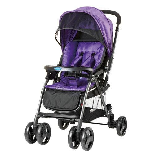 Merissa 美瑞莎 LT-3R Light 雙向嬰兒手推車-時尚紫【悅兒園婦幼生活館】