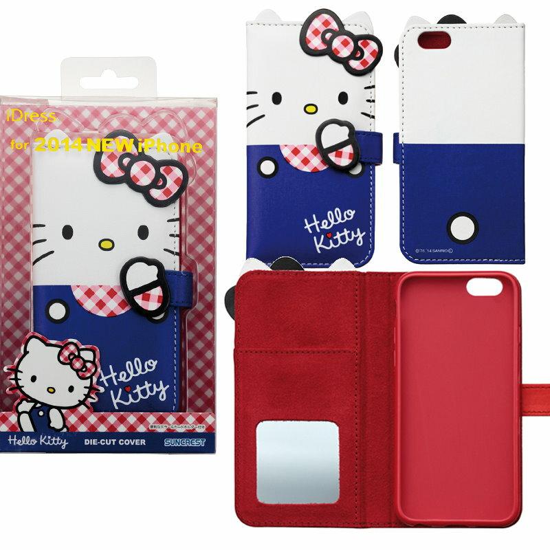 大田倉 日本進口正版iPhone6 三麗鷗 凱蒂貓 Hello Kitty 手機殼 皮套 721341