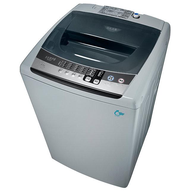 ★預購3月到貨★【聲寶SAMPO】6.5公斤微電腦全自動單槽洗衣機/ES-E07F(G)